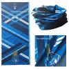 Cou multifonctionnel bleu de polyester bon marché imprimé par conception adapté aux besoins du client par OEM tubulaire
