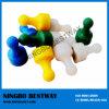 NdFeB Magnetic Push Pins Matériel en plastique