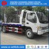 JAC/Isuzu 작은 4t 도로 복구 구조차 5tons 평상형 트레일러 견인 트럭