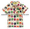 Colorful T-Shirt, Turndown Collar T-Shirt du chevreau pour Kids