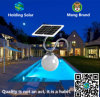LEDのマイクロウェーブセンサーが付いている太陽緑の壁ライト