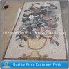 Reticolo di mosaico di pietra di marmo naturale di arte per la pavimentazione, mattonelle della parete