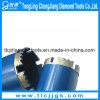 Morceau de foret personnalisé de faisceau de diamant de longueur pour le découpage de marbre