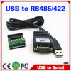 Fabriek Price Ftdi Chip USB 2.0 aan Serial Haven RS485 RS422 rs-485 Cable Adapter Converter met dB9 Connector