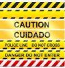 신호를 위한 경고 테이프 PE 주의 테이프 테이프
