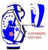 De hoge die Zak van het Golf van Qualtiy Pu voor Golfclubs in Verkoop 2016 worden geplaatst