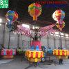 遊園地の装置サンバの気球の乗車、トレーラーのサンバの気球