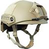 Casque tactique rapide d'Airsoft MH de sûreté matérielle d'ABS pour le sport /Rock montant /Bike