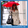 Gift promocional Items Outdoor Use Polyester Folding Sun y Rain Women Umbrella