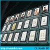 Rectángulo ligero delgado de acrílico del cristal LED con Ce Certificado