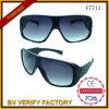 Gummirahmen-Firmenzeichen-Drucken-Plastiksonnenbrillen F7712