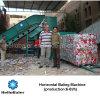 Máquina de embalaje automática del papel usado de Hellobaler 4t/H con el transportador