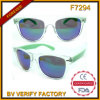 Glaces d'imitation polaroïd d'Oculos Sun de véritable couleur de F7294 Rayman
