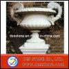 Potes de flor de piedra de Atique del granito natural con piedra arenisca