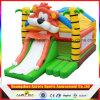 La gorila de salto inflable de los juguetes al aire libre juega el trampolín inflable