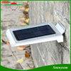 46의 LED 옥외 태양 벽 센서 빛 안뜰, 야드, 갑판, 현관을%s 움직임에 의하여 활성화되는 안전 점화