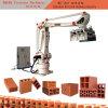 로봇 기계를 겹쳐 쌓이는 빈 벽돌 조정 로봇 찰흙 벽돌