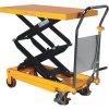 Elevador de tesoura hidráulica manual portátil caminhão de mesa