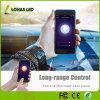 LangstreckensteuerTuya intelligente APP steuerte WiFi intelligente LED Scheinwerfer-Birnen-Arbeit der Glühlampe-5W GU10 LED mit Alexa Google Assistenten