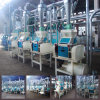 Nshima Ugaliのための機械装置を処理するトウモロコシ