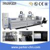 Aluminium 3 CNC van de As Machinaal bewerkend Centrum voor het Boren Malen