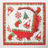 Wegwerfbares Party Paper Dinner Napkin mit Weihnachtsmann Printed