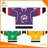 Хоккей на льду сублимированный краской Mens способа Healong печатание Джерси