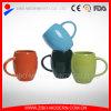Tazze variopinte colorate della tazza di ceramica della pancia del timpano