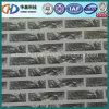 Зерно кирпича Pre-Painted стальная катушка после того как оно использовано на строительном материале