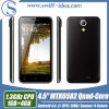 4 Colors 4.5 IPS Mtk6582 Quad Core 5.0MP Camera Telephone Android (T2)
