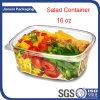 Envases de plástico transparente para las frutas y verduras