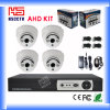 CCTV Camera Security System del H. 264 4CH Complete Portale