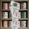 La toilette de Noël essuie l'essuie-main de cuisine estampé par saison de tissu de toilette