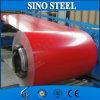 Bobina de acero cubierta color galvanizada prepintada de la hoja PPGI de la bobina