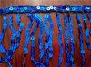 frangia della nappa dei Sequins di 10cm per il vestito