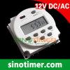 DC 12V цифров/еженедельный/Programmable отметчик времени (TM-618)