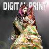 Печать сатинировки цифров для 12mm, 14mm, ткань 16mm 100% Silk