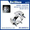 Adaptador céntrico de la rueda del eje con el espaciador de aluminio de la rueda