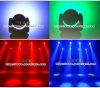 het LEIDENE 19X12W RGBW Gezoem dat van de Was het HoofdLicht van de Disco van de Straal beweegt