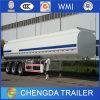 3 Aanhangwagen van de Vrachtwagen van de Tanker van de Brandstof van assen 60000L de de Roestvrije/Tanker van het Vervoer van de Brandstof