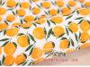 주황색 패턴에 의하여 인쇄되는 길쌈된 화포 직물