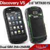 Android 2.3 Mtk6515, 1.0GHz Dual SIM Card Dual Standby Unlocked Unlocked Cell Phone V5