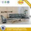 Modernes Europa-Entwurfs-Stahlmetallledernes Wartebüro-Sofa (HX-8N2071)