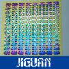 Kundenspezifischer anhaftender wasserdichter glatter Laser-Garantie-Hologramm-umweltsmäßigaufkleber
