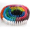 Les dominos colorés par coutume, déconcertent les jouets en bois
