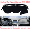 Voar5d tapete de painel de bordo Dashmat Tampa da Sun para interiores de automóveis Hyundai Sonata 2009-2013