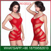 Высокое качество мини-красный дамы Sexy белье с сарафан