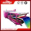 Roulis pour rouler la machine de presse de la chaleur de Baed de pétrole de 420*1900mm