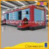 子供のおもちゃの警備員バス家(AQ14235)との膨脹可能な障害物コース