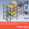 倉庫の産業金属の鋼鉄記憶の棚付け鋼鉄選択的なパレットラック